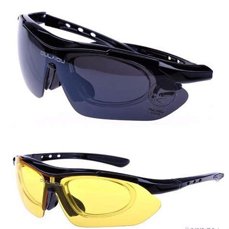 Kacamata Sepeda Polinelli Lensa Polarized 5 oulaiou kacamata sepeda dengan 5 lensa myopia black jakartanotebook