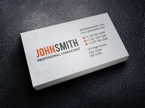 personal card template for word personal business cards template choice image business