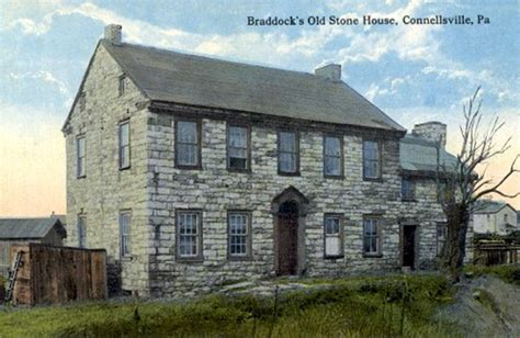 old stone house u s route 40 quot braddock road quot by john kennedy lacock 1909