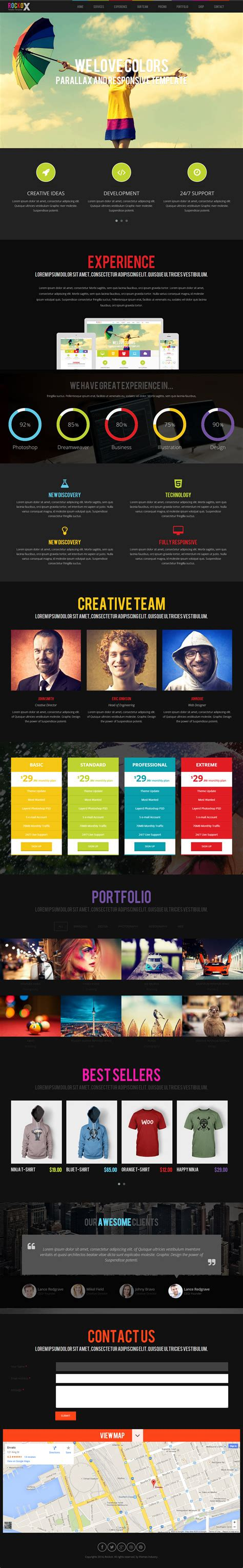 drupal themes responsive parallax free 25 best responsive parallax scrolling drupal themes 2014