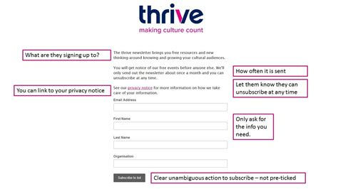 Get Your Email Marketing Ready For Gdpr Thrive Free Gdpr Templates