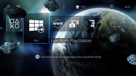 galaxy themes ps3 3 epic 3d galaxy themes in one theme on ps4 official
