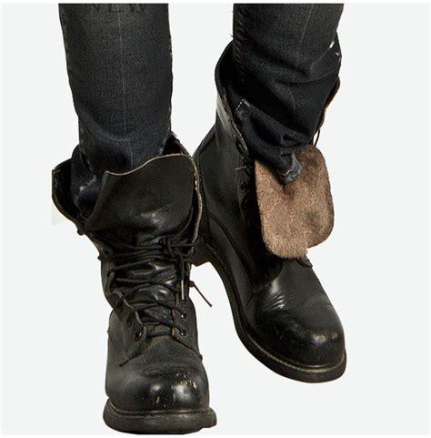 cool biker boots half handmade durable badass cowhide boots 113 77982
