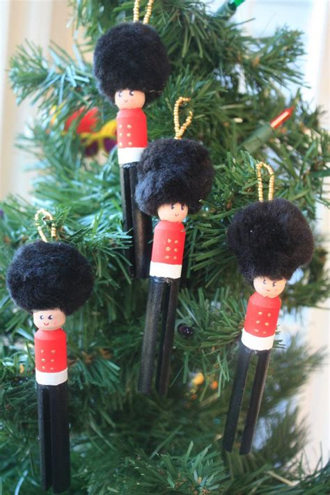 toy soldier craft for kids vintage inspired soldier ornaments set of 4 by minandmoots crafts
