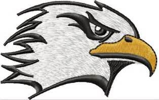 instant download embroidery design eagle head machine