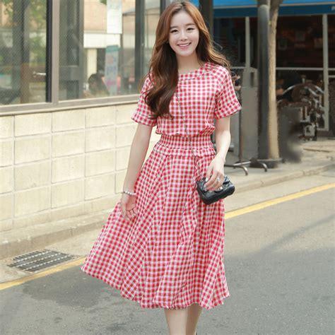 Dress Korean Midi Dress Fashion Korea 1 aliexpress buy 2016 korean fashion summer style casual cotton linen dresses stretchy