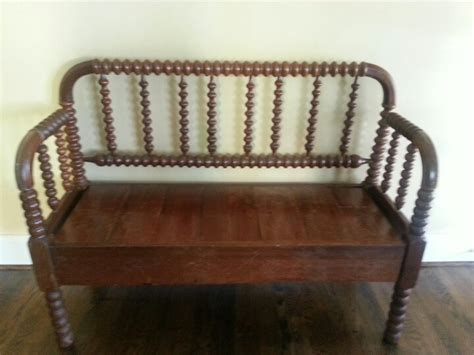 jenny lind bench bench from a jenny lind bed dreamy spaces pinterest