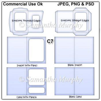 C7 Envelope Card Insert Templates Commercial Use 163 3 50 Instant Card Making Downloads Free Card Templates With Picture Insert