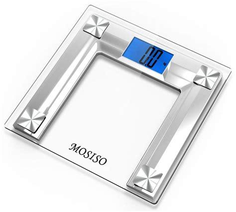 bathroom scale accuracy test mosiso high accuracy digital bathroom scale for 18