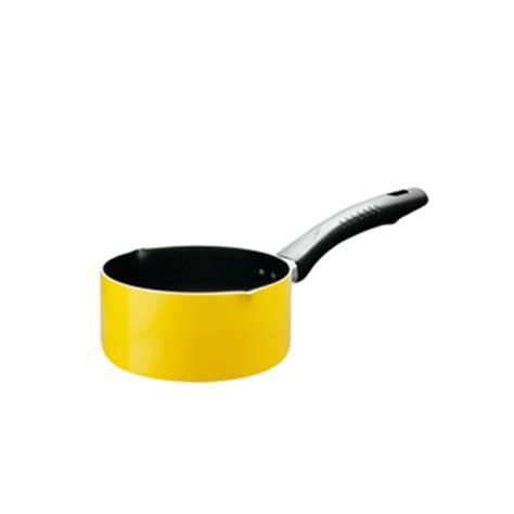 Panci Keramik Fincook jual panci saucepan fincook sp1602tf bibir tuang yellow