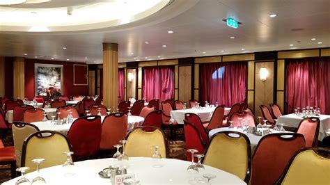 Dark Dining Room Table restaurant crawl onboard allure of the seas cruisetotravel