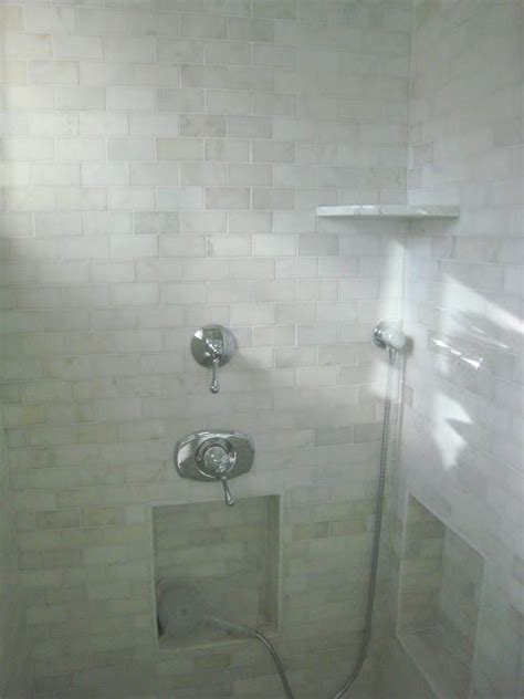 Marble Subway Tile Bathroom Marble Subway Tile Bathroom Traditional Bathroom Other Metro By Artistic