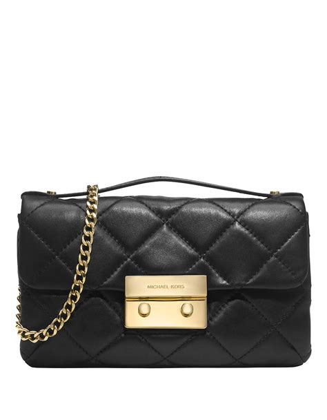 Michael Kors Quilted Handbags by Michael Michael Kors Sloan Quilted Leather Messenger Bag