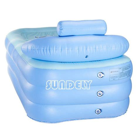 blow up bathtub secuda adult portable spa warm bathtub inflatable bath tub