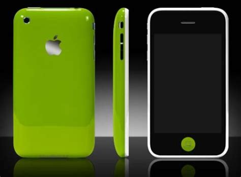 Colorware Spruces Up The Iphone colorware spruces up iphone 3g ubergizmo