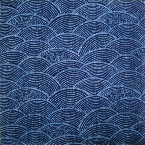japanese pattern material authentic japanese indigo cottons pattern pinterest