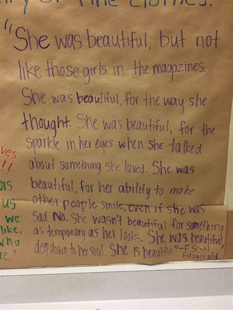 students cover bathroom mirrors with uplifting notes to