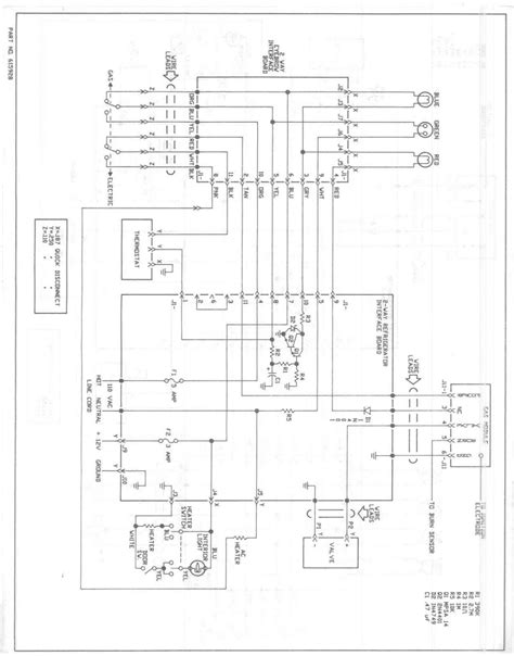 norcold rv refrigerator wiring diagram rv air conditioner