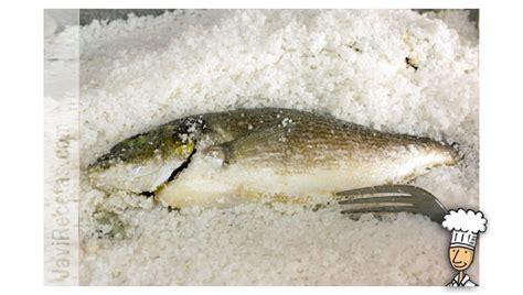 dorada al horno ala sal dorada a la sal javi recetas