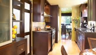 Galley Style Kitchen Makeovers - preparation for galley kitchen remodel designwalls com