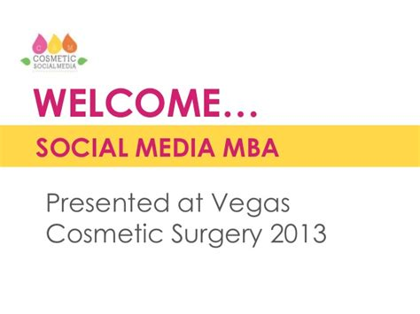 Social Media Mba Snhu Classes by Social Media Mba Vegas Cosmetic Surgery 2013