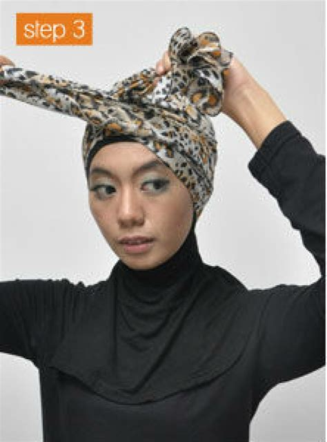 tutorial berhijab turban tutorial hijab dengan turban style foto 2 dream co id