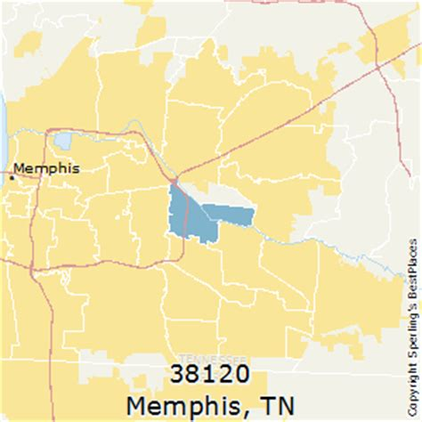 zip code map for memphis tn best places to live in memphis zip 38120 tennessee