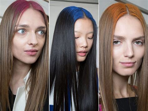 2015 hair colour trends wela spring summer 2015 hairstyle trends fashionisers