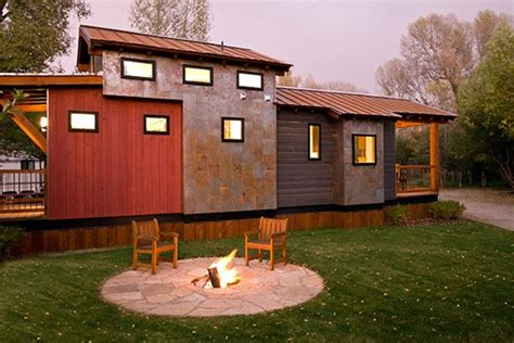 Small Homes Jackson Wyoming Jetson Green Low Impact Tiny Cabin In Jackson