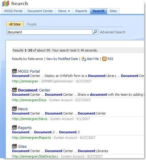 view web sharepoint customizing the search result by xslt
