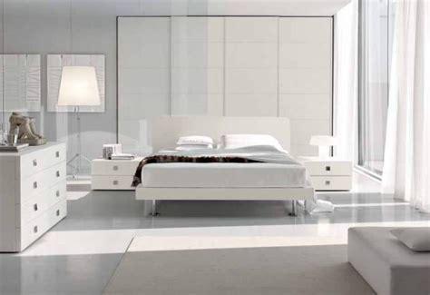 white modern bedroom furniture decoraci 243 n en blanco para toda la casa tendenzias com 17853 | dormitorio blanco