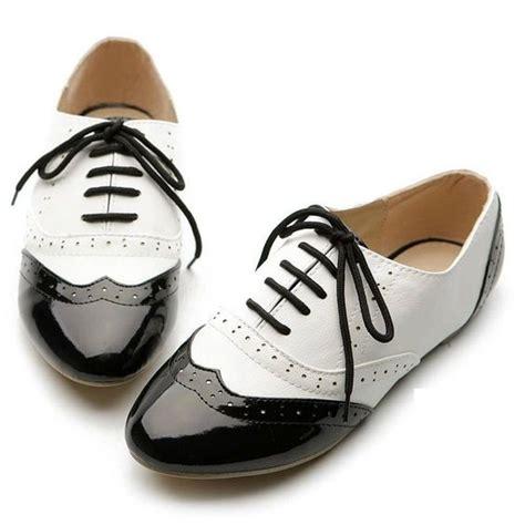 imagenes zapatos blanco y negro zapatos oxford mujer blanco y negro buscar con google