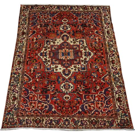 7x10 Area Rug Bakhtiari 7x10 1940 S Knotted Wool Area Rug Sold On Ruby