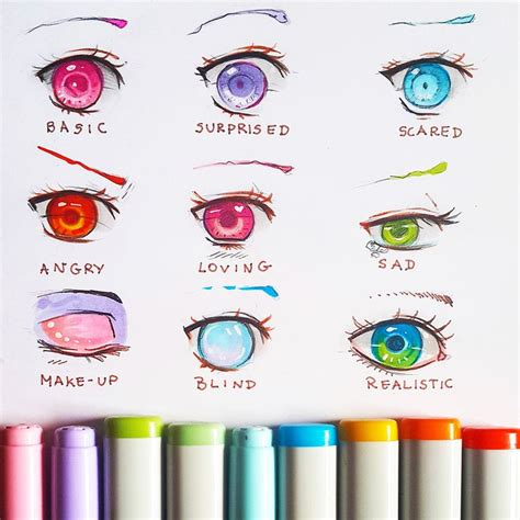 Cool Anime Eye Drawings 25 Best Ideas About Anime On Awesome