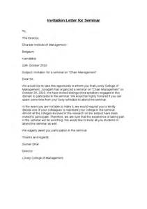 Request Letter Format For Attending Workshop Sle Of Management Invitation Just B Cause