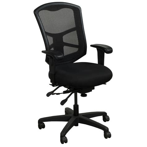 office master ys88 used mesh back task chair black