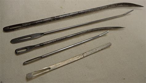 long upholstery needles 5 weird wonderful long sewing needles by
