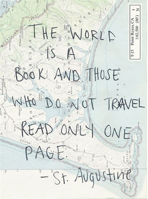 read in one page the world is a book and those who do not travel read only