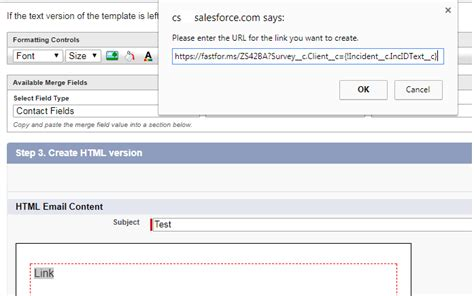 Creating A Hyperlink In An Email Template Salesforce Stack Exchange Link In Email Template Salesforce