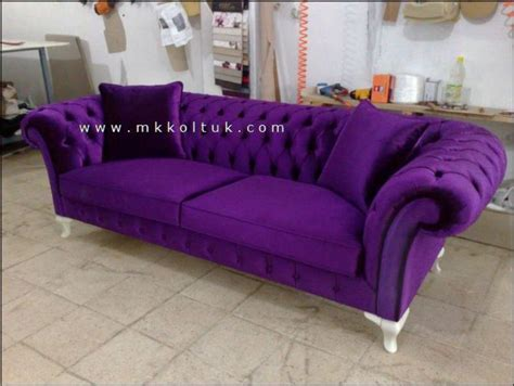 Purple Chesterfield Sofa Velvet Chesterfield Sofa Purple Blue Pink Bright Chesterfield Sofa Living Room Hotel Room