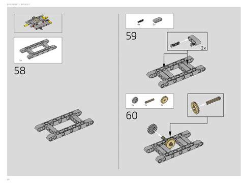 technic porsche instructions 42056 technic instructions