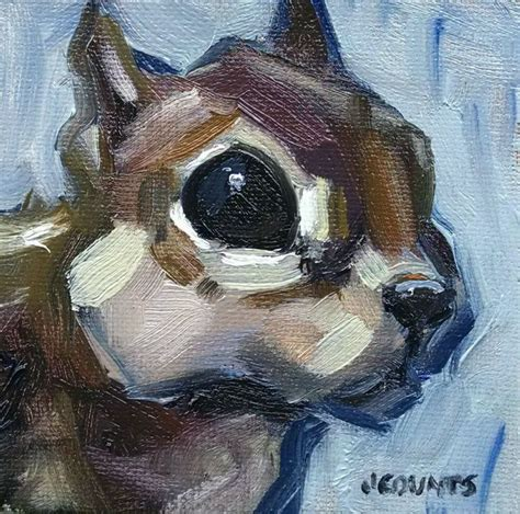 kyle buckland jenn counts farm art chipmunk squirrel