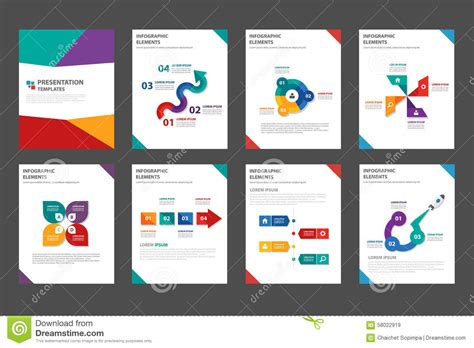marketing leaflet template marketing brochure templates set 1