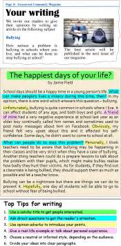 What Am I Living For Essay by A Magazine Article Learnenglish Council