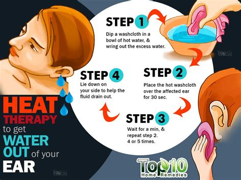 how to get water out of your ear top 10 home remedies
