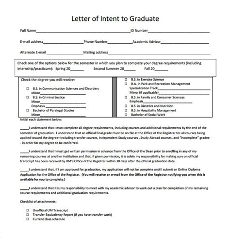 Letter Of Intent Graduate School Pdf Letter Of Intent Graduate School 9 Documents In Pdf Word