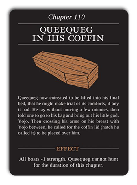 chapter 110 queequeg in his coffin moby or the
