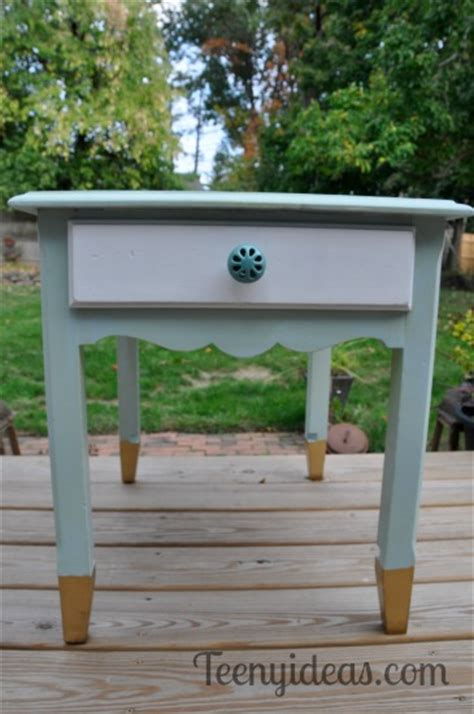 end table makeover ideas an end table makeover teeny ideas