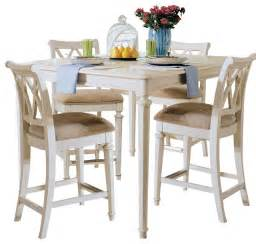 American Drew Dining Table American Drew Camden Light Gathering Table In White Painted Traditional Dining Tables By