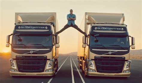 epic split jean claude van damme stars  volvo trucks ad